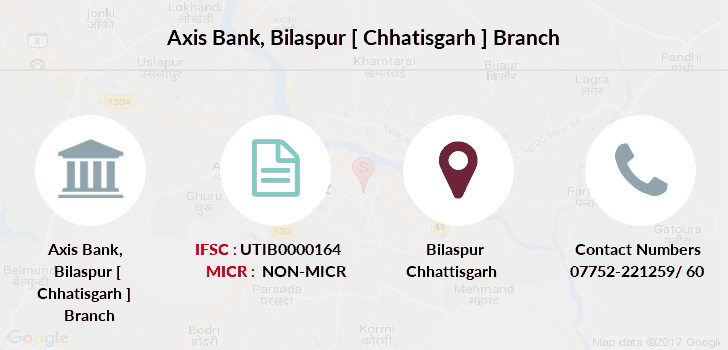 Axis-bank Bilaspur-chhatisgarh branch