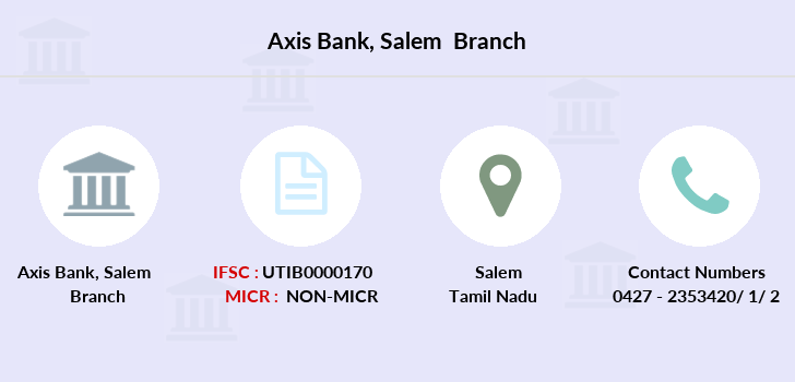 Axis-bank Salem branch