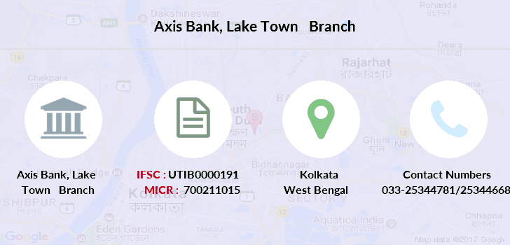 Axis-bank Lake-town branch