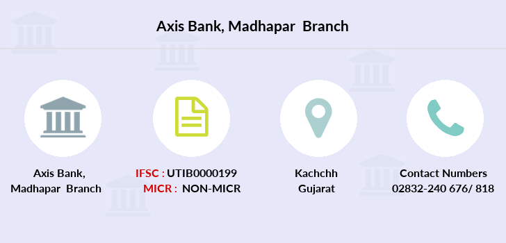Axis-bank Madhapar branch