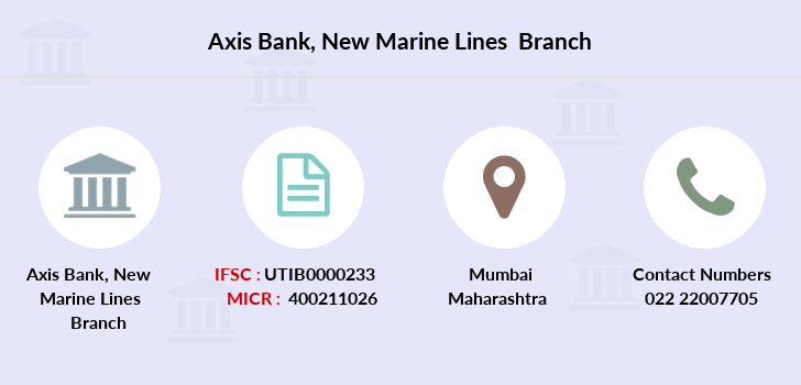 Axis-bank New-marine-lines branch