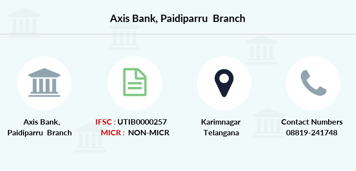Axis-bank Paidiparru branch