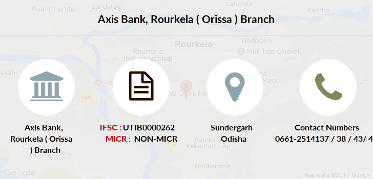 Axis-bank Rourkela-orissa branch