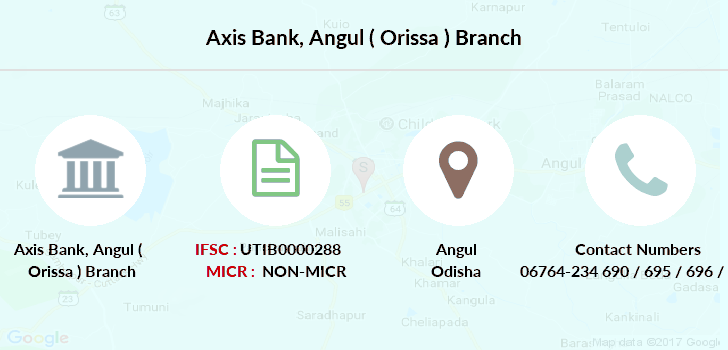 Axis-bank Angul-orissa branch