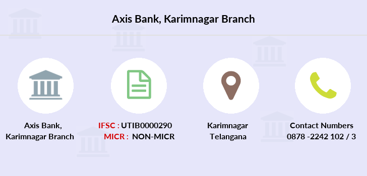 Axis-bank Karimnagar branch