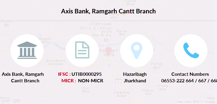 Axis-bank Ramgarh-cantt branch