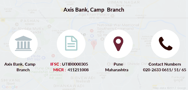 Axis-bank Camp-pune branch
