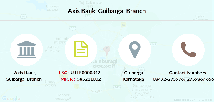 Axis-bank Gulbarga branch