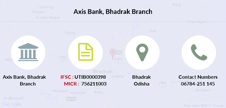 Axis-bank Bhadrak branch