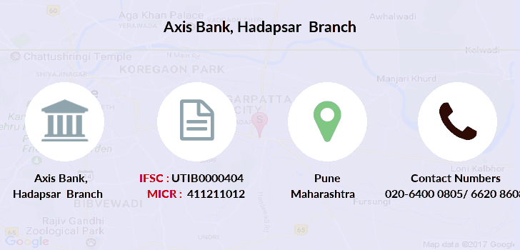 Axis-bank Hadapsar branch