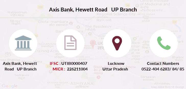 Axis-bank Hewett-road-up branch