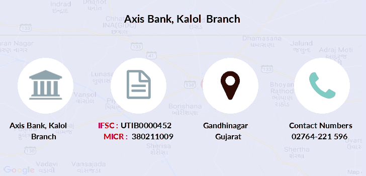Axis-bank Kalol branch