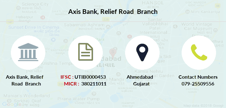 Axis-bank Relief-road branch