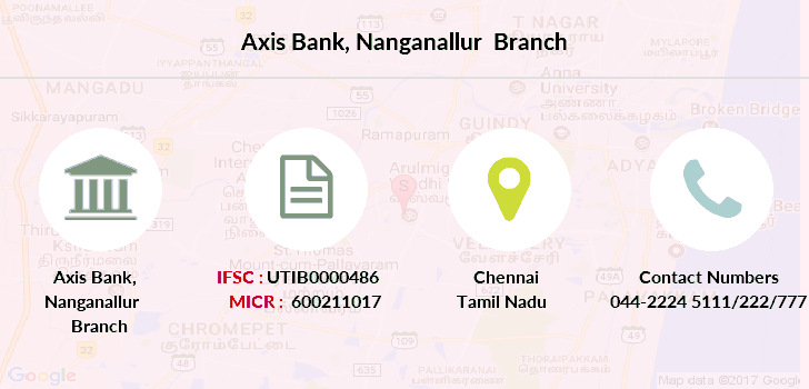 Axis-bank Nanganallur branch