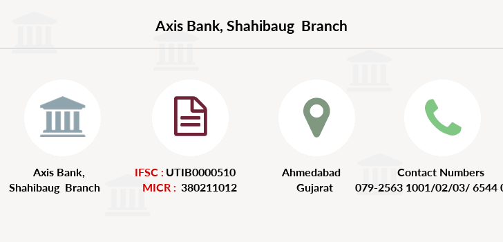 Axis-bank Shahibaug branch