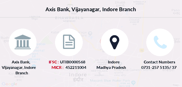 Axis-bank Vijayanagar-indore branch