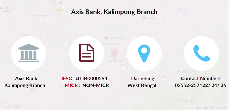 Axis-bank Kalimpong branch