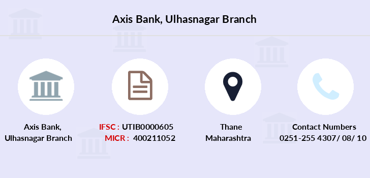 Axis-bank Ulhasnagar branch