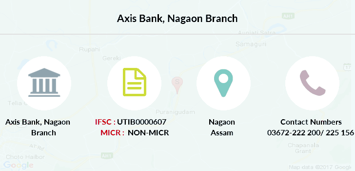 Axis-bank Nagaon branch
