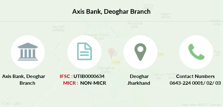 Axis-bank Deoghar branch