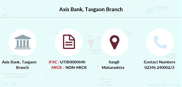 Axis-bank Tasgaon branch
