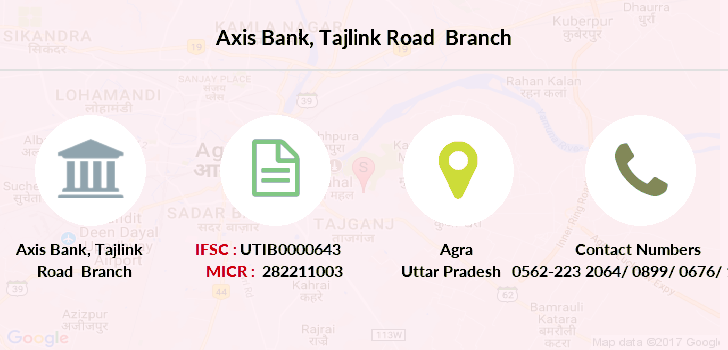 Axis-bank Tajlink-road branch