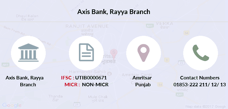 Axis-bank Rayya branch