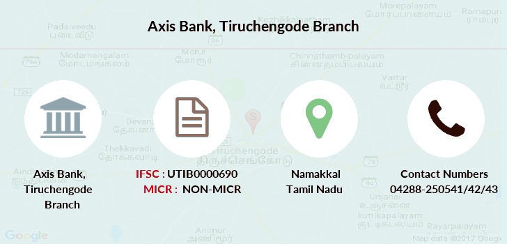 Axis-bank Tiruchengode branch