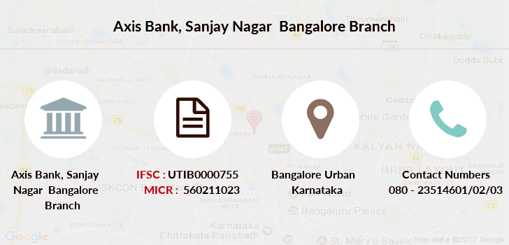 Axis-bank Sanjay-nagar-bangalore branch