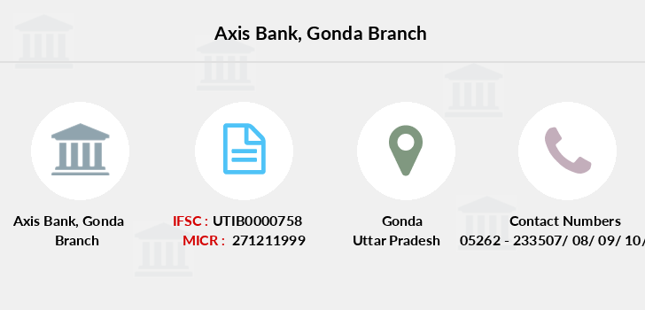 Axis-bank Gonda branch