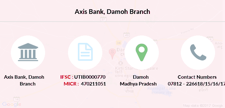 Axis-bank Damoh branch