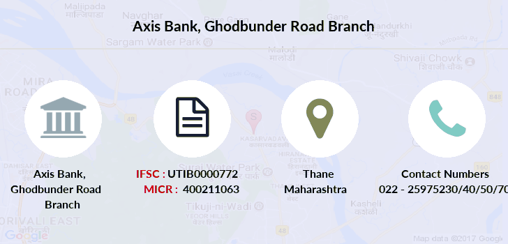 Axis-bank Ghodbunder-road branch