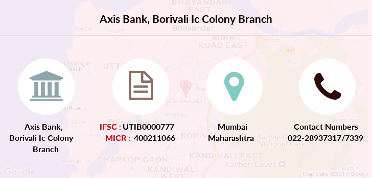 Axis-bank Borivali-ic-colony branch