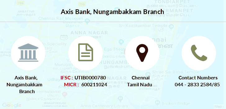 Axis-bank Nungambakkam branch