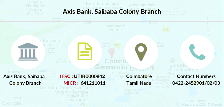 Axis-bank Saibaba-colony branch