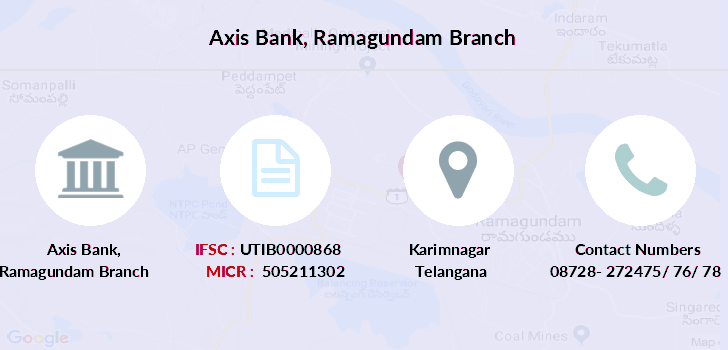 Axis-bank Ramagundam branch