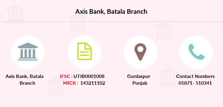 Axis-bank Batala branch