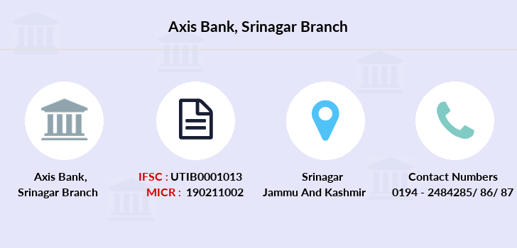 Axis-bank Srinagar branch