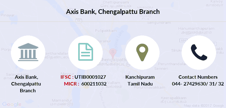 Axis-bank Chengalpattu branch