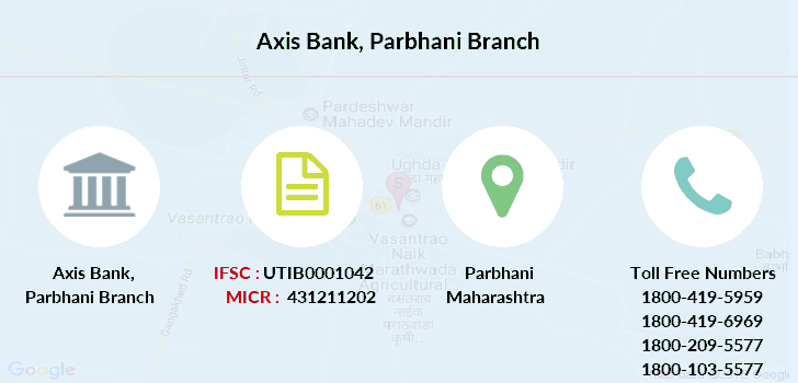 Axis-bank Parbhani branch