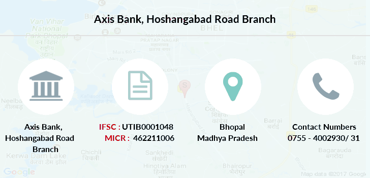 Axis-bank Hoshangabad-road branch