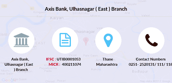Axis-bank Ulhasnagar-east branch