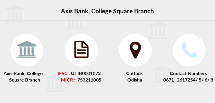 Axis-bank College-square branch