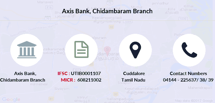 Axis-bank Chidambaram branch