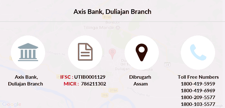 Axis-bank Duliajan branch