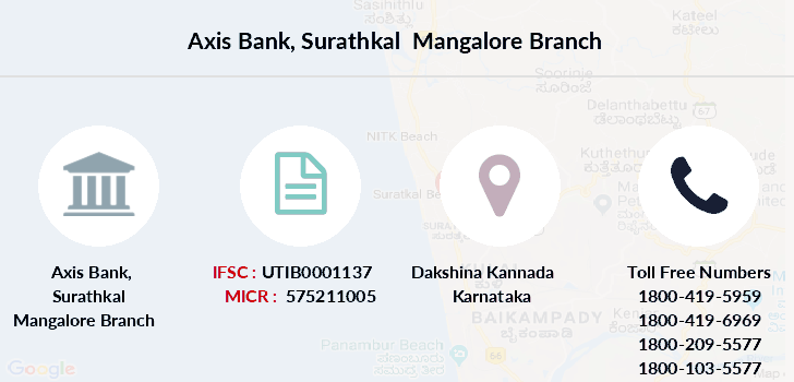Axis-bank Surathkal-mangalore branch