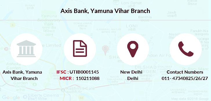 Axis-bank Yamuna-vihar branch