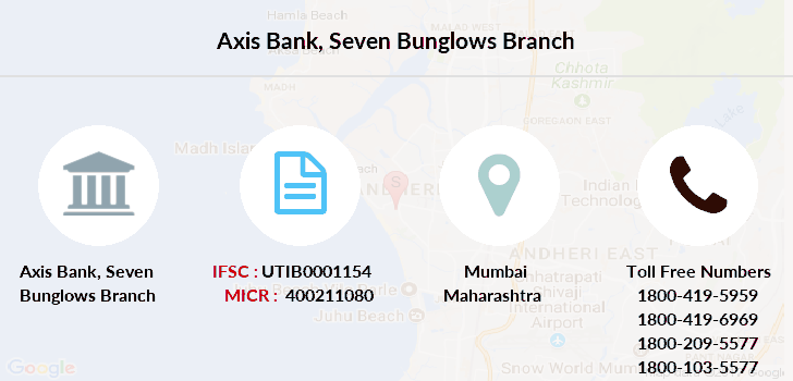 Axis-bank Seven-bunglows branch