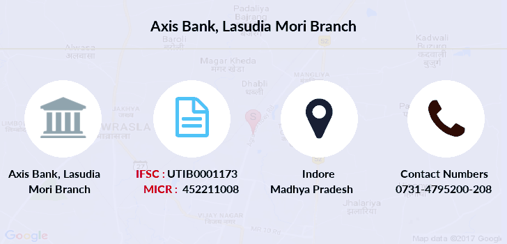 Axis-bank Lasudia-mori branch