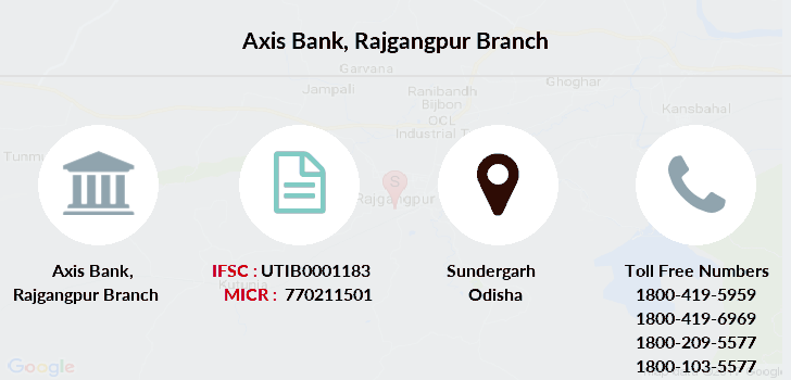 Axis-bank Rajgangpur branch